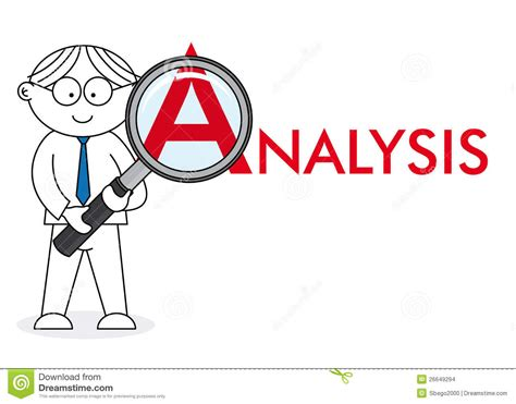 analyst looking closely stock images image 26649294