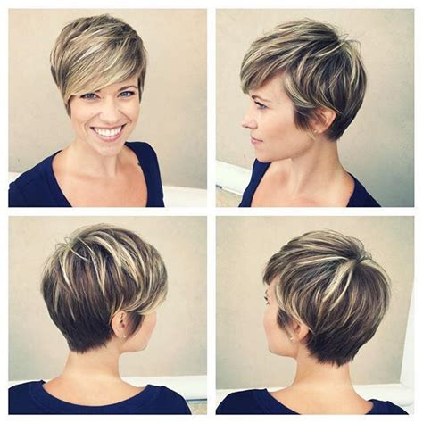 pin  david connelly  highlighted streaked foiled frosted hair  short hair styles