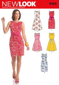 new look 6184 sewing pattern uncut misses ladies womens