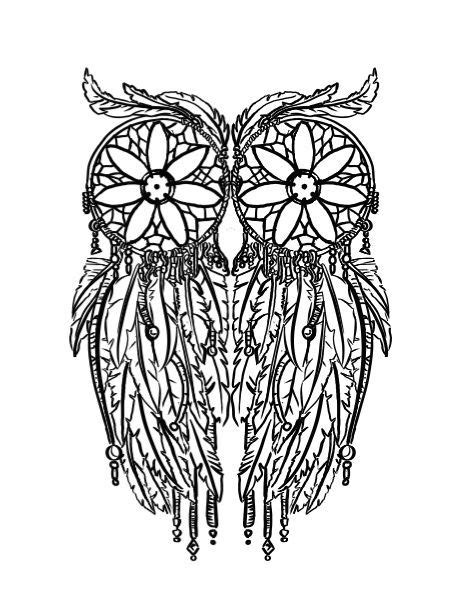 dream catcher coloring pages google search coloring