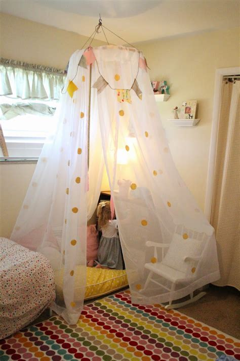 homemade canopy mommy vignettes diy no sew tent canopy tutorial