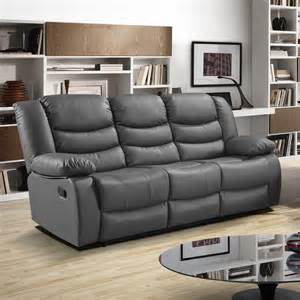 grey recliner sofa majestic gray fabric upholstery
