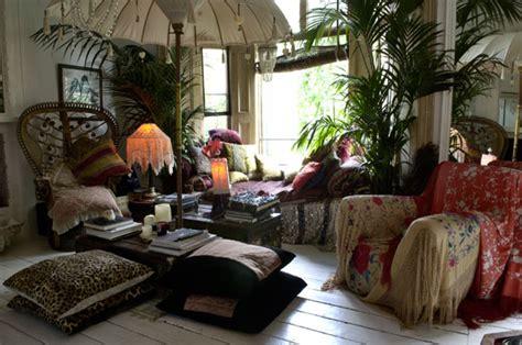 hippie living room decor bohemian valhalla interior alchemy color me speechless