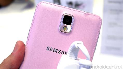 pink wallpaper note 3 in pictures the blush pink samsung galaxy note 3