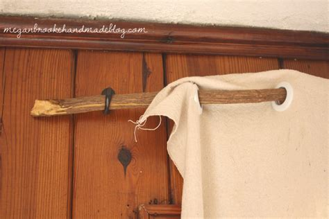 stick on curtain rod diy curtain rod stick megan brooke handmade