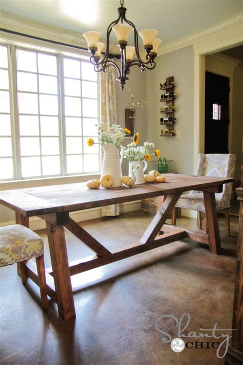 Dining Table Diy Pdf Diy Restoration Hardware Dining Table Plans