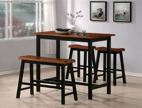 kitchen bench stools 4 piece pc breakfast nook kitchen counter height dining