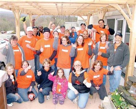 home depot employees build healing garden at port jervis