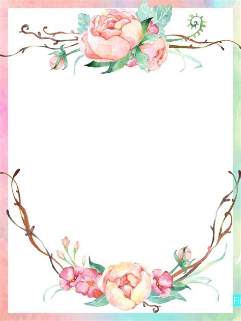 Wedding Side Border by Colored Border Lace Beautiful Flower Border Background