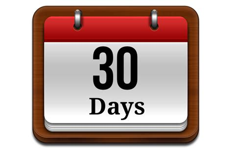 30 days that is all