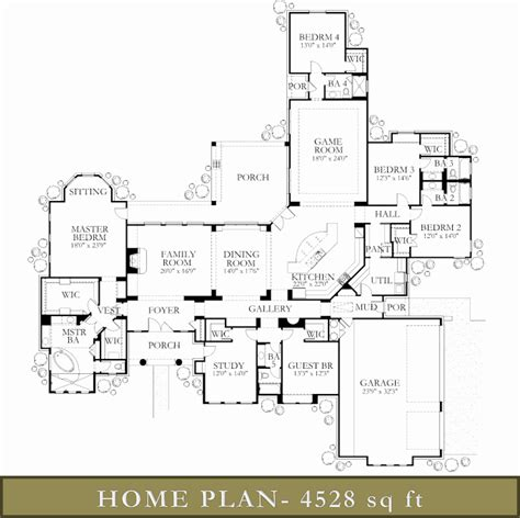 4500 5000 Sq Ft Homes Custom Home Builders Glazier 4500 Sq Ft House Plans