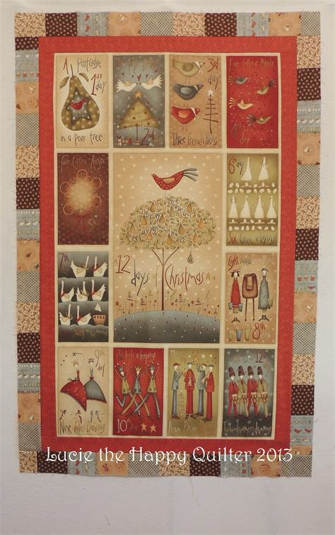 12 days of christmas by anni downs of hatched patched