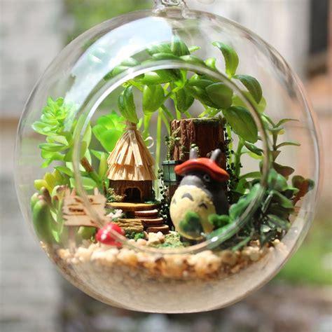 Totoro Car Decor Hanging Globe Mini Garden 132 best images about terrarium on