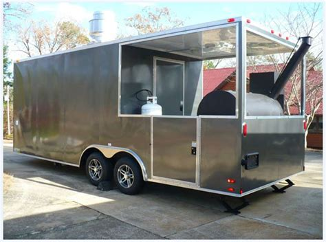 BBQ Trailers for Sale   BBQ Smoker Concession Trailers for Sale   BBQ Pit Trailers