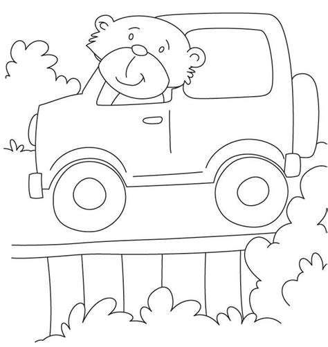 jeep coloring book page free jeep coloring pages to print