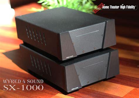 wyredsound sx  monoblock amplifier ultra high