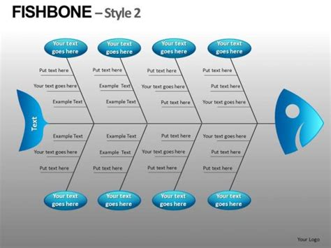 free fishbone diagram template powerpoint ishikawa diagram template powerpoint the highest quality