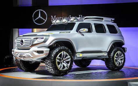 future mercedes g mercedes unveils ener g force concept 2014 sls amg black