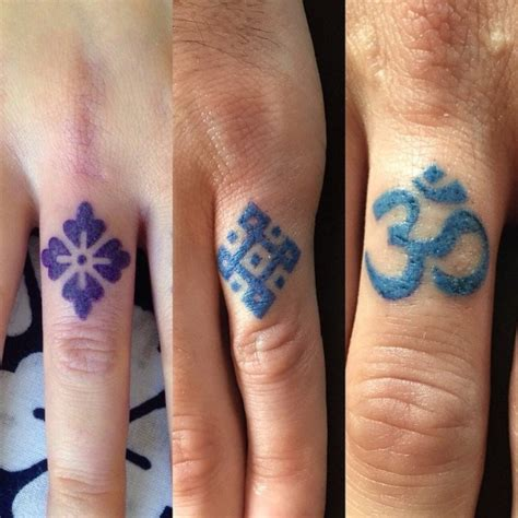 om tattoo designs on hand 50 attractive symbol tattoos