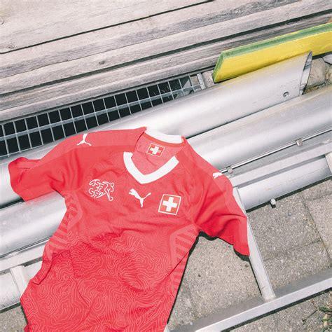 camiseta de suiza mundial 2018 marca de gol