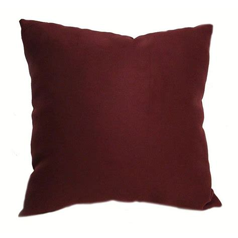 throw pillows for burgundy sofa burgundy pillows for ultrasoft 16 inch burgundy