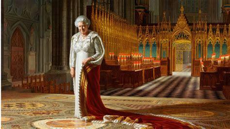 home of queen elizabeth in desperate plea man defaces queen elizabeth s portrait