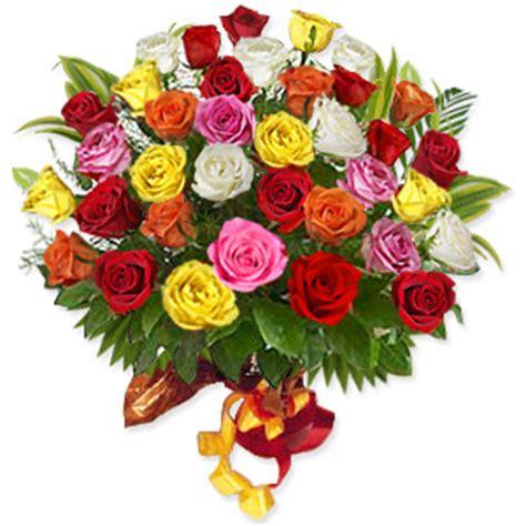imagenes rosas variadas 36 rosas variadas tallo largo en ramo yamil floristas