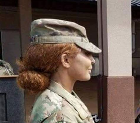 article on female hair regulations usmc what would you do if your csm was ignoring uniform and