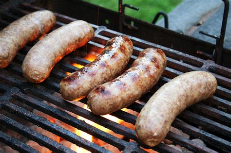 best brat indirect heat bratwurst