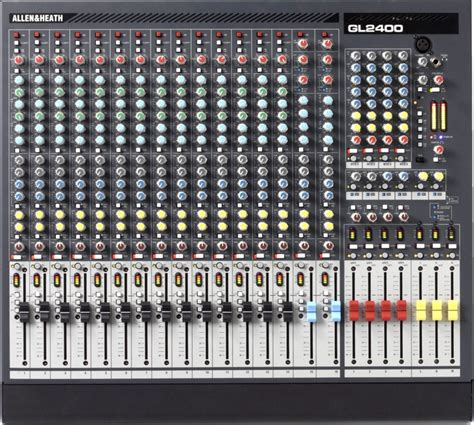 Mixer Allen Heath Gl2400 24 allen heath gl2400 16 dual function live mixer sweetwater