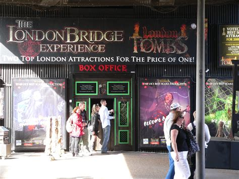 the london bridge experience the london bridge experience london tombs london