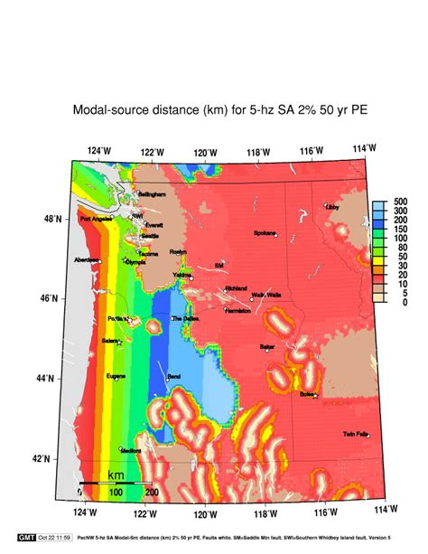map of oregon earthquake zones earthquake monitor portland oregon
