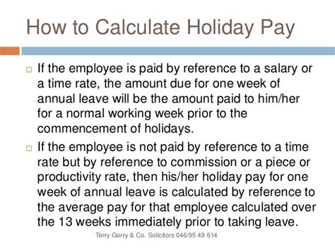 image gallery leave entitlement calculator