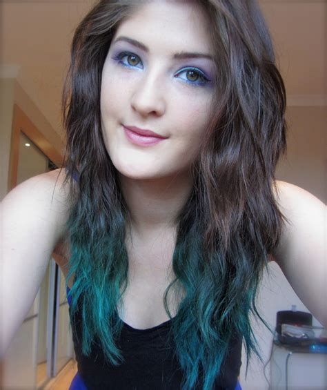 hairstyles 2016 dip dye brown blue ombre hair 3 things to know for 2016 styles