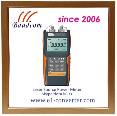 power meter light source test handheld laser power meter with 2 wavelength light source