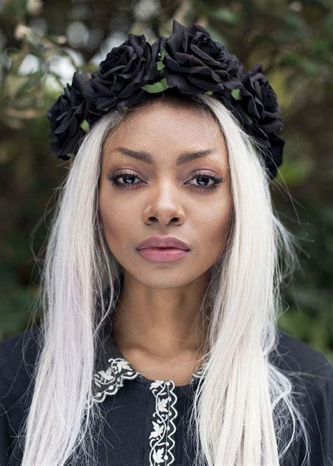 flower headband hair ideas faq my hair diy black flower hair crown headband by beauxoxo on etsy