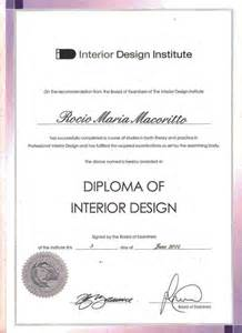 interior design certificate su me rocio macorittorocio macoritto