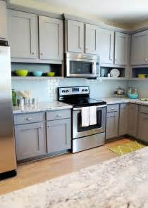 Blue Grey Kitchen Cabinets 25 Best Ideas About Gray Kitchen Cabinets On Pinterest