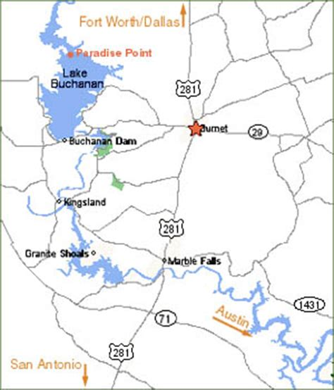 texas highland lakes map rick ransom lake buchanan striper guide fishing charter highland lakes central texas hill