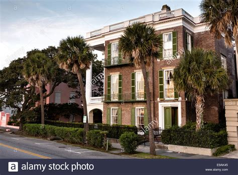 we buy houses charleston sc homes along the battery in historic charleston sc stock photo royalty free image