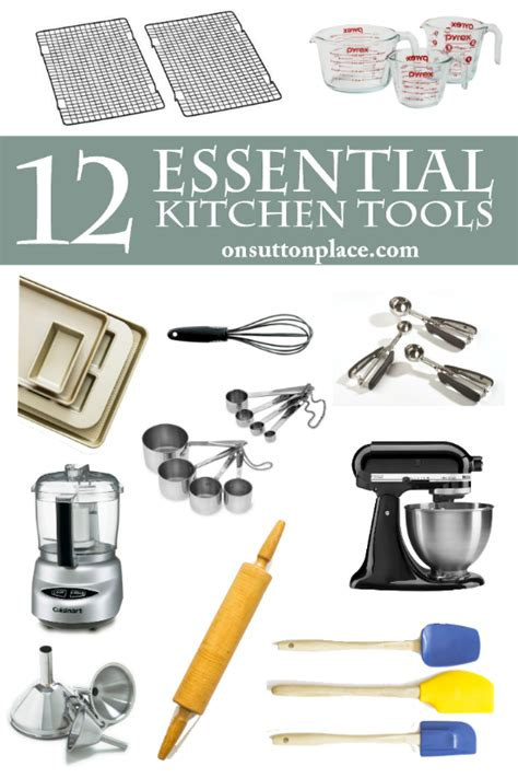 Kitchen Tool Essentials List My Favorite Things Issue 2 Kitchen Tools