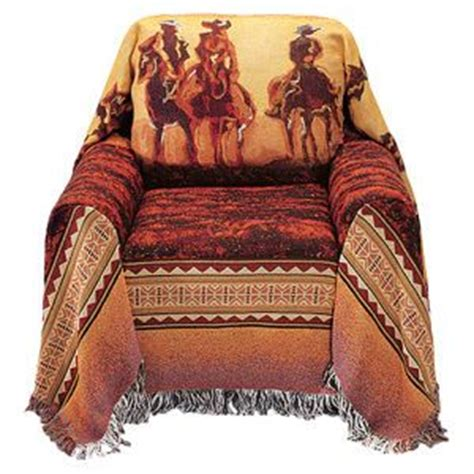 Western Sofa Covers by Sofa Covers Cowboys And Chair Covers On