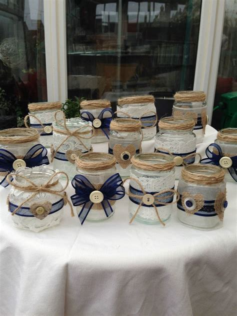 Decorating Jam Jars For Candles by Best 25 Glass Jars Ideas On