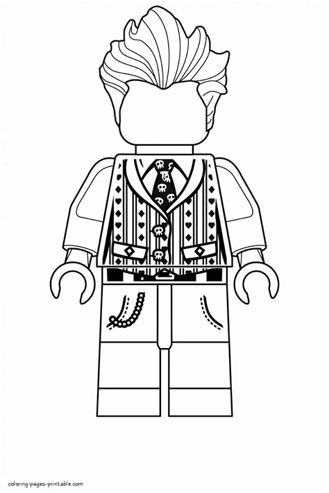 lego coloring pages joker lego joker coloring pages