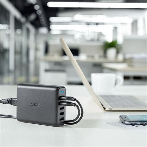 Powerport Speed 5 With Dual Charge 3 0 Black A 2054k11 anker powerport speed 5 port 63w usb charger with dual qc 3 0 au version cablegeek australia