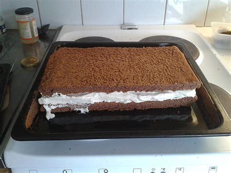 milchschnitte kuchen milchschnitte selbst gemacht rezept mit bild