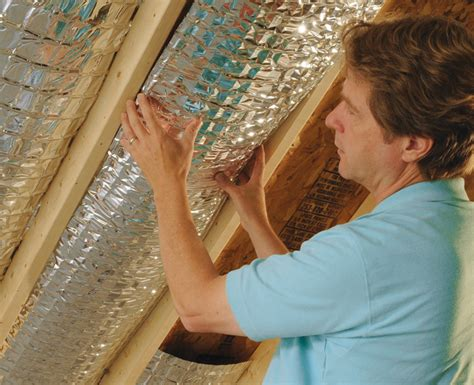reflective paint vs foil attic foil radiant barrier curb energy cost with radiant barrier reflective attic foil