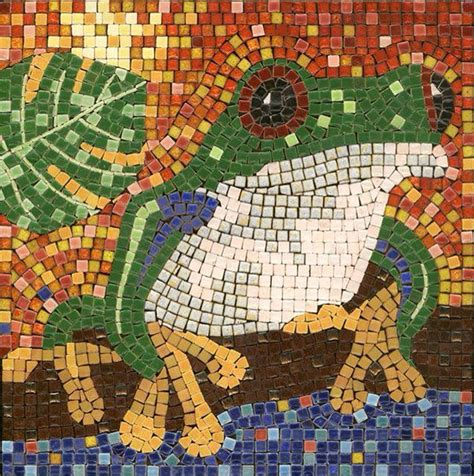 mosaic pattern cause 22 best frogs images on pinterest mosaics stained glass