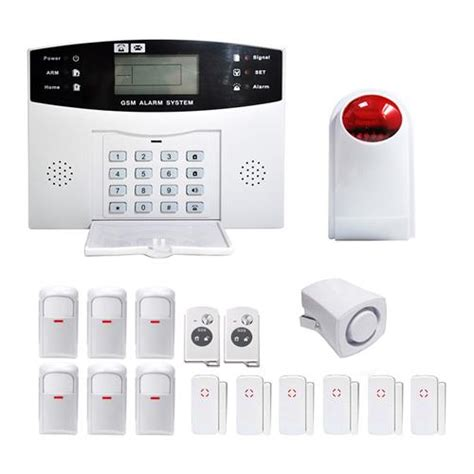 ya 500 gsm 28 lcd home house office security burglar alarm