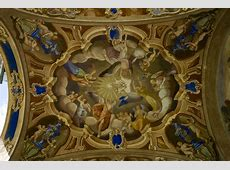 Painting at the Ceiling of the Church Entrance in Someo D70 Nikon